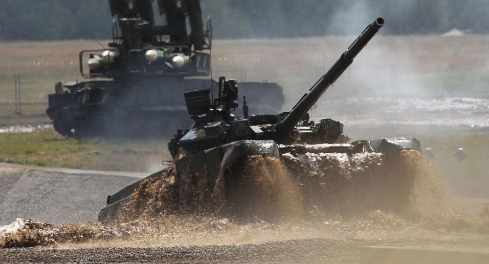 Tank russo T-90