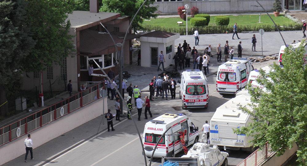Dopo un'esplosione in Turchia
