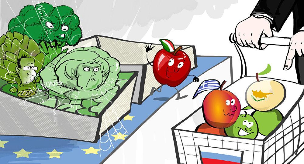 Caricatura, chi si sfila dalle sanzioni?