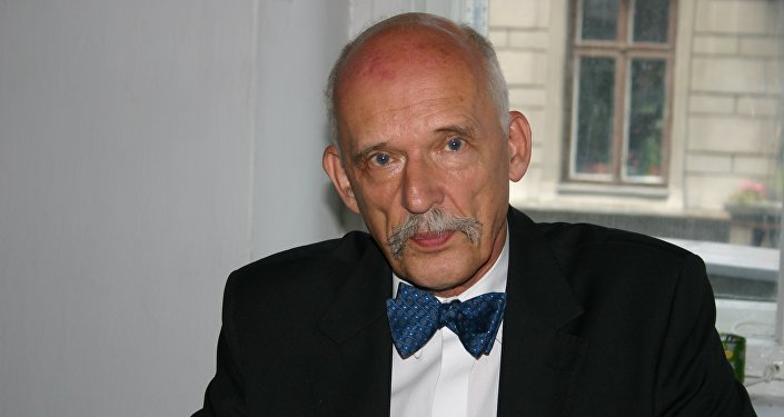 Eurodeputato polacco Janusz Korwin-Mikke