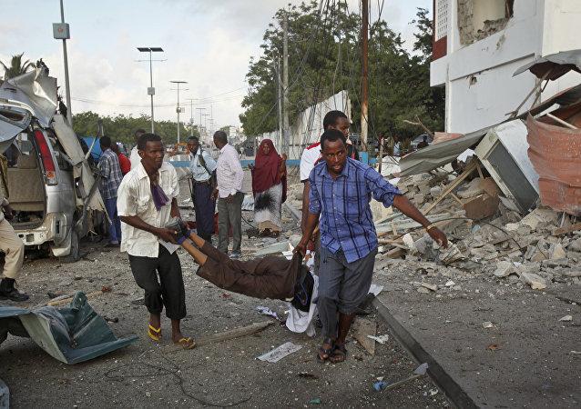 Dopo un'esplosione a Mogadishu