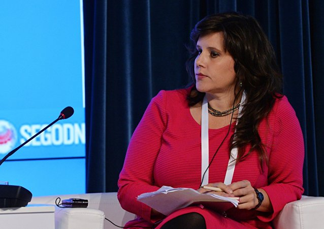 Giornalista Eva Golinger (RT Spanish)