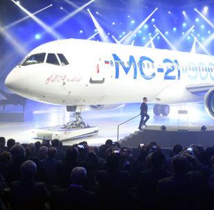 MS-21 presentato a Irkutsk