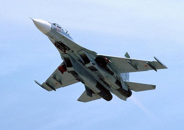 Caccia Su-27