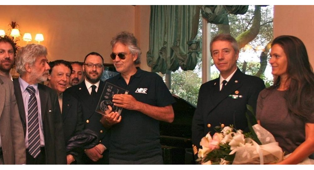Bocelli insignito del premio Tatiana Pavlova
