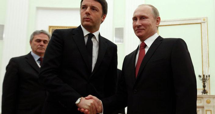 Putin, Renzi incontro