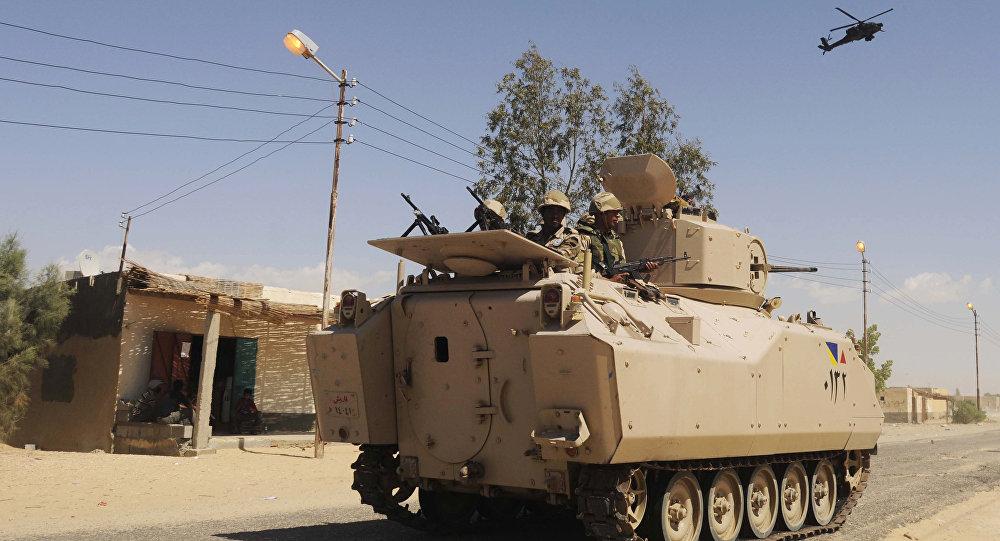 Mezzo corazzato dell'esercito egiziano