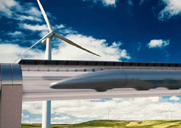 Sistema di trasporto Hyperloop