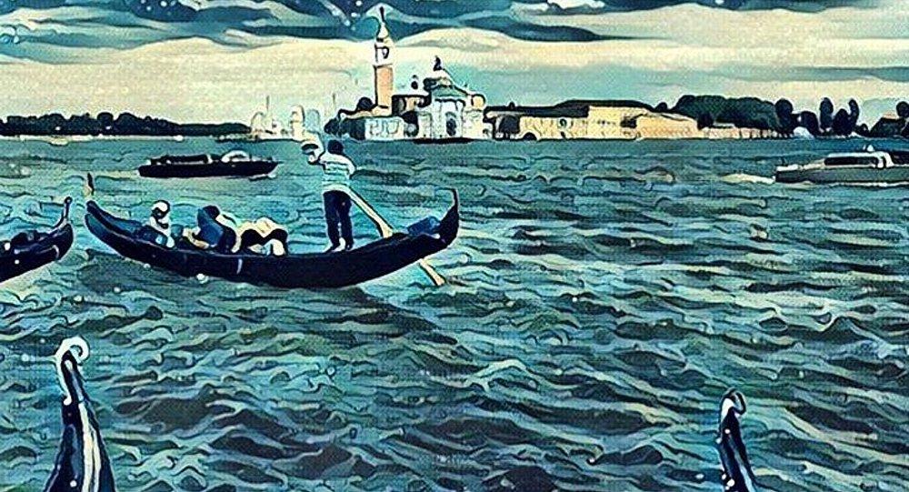Venezia vista con Prisma