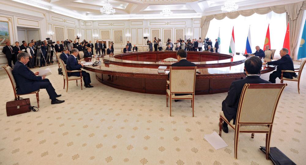 Consiglio dell'Organizzazione di Shanghai per la cooperazione (SCO)