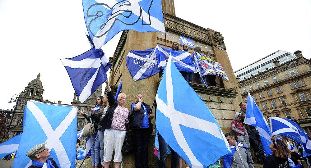 Bandiere della Scozia