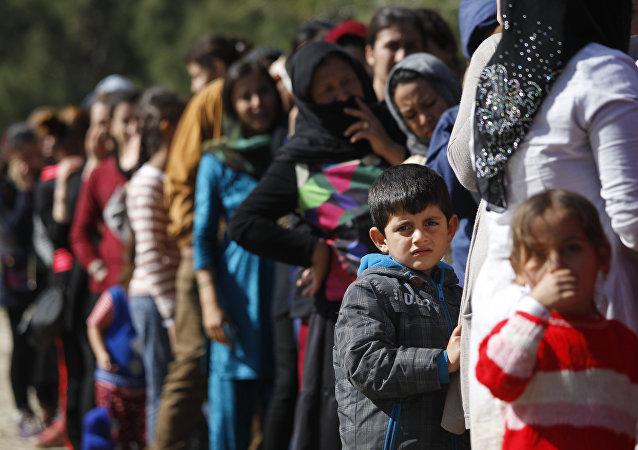 Migranti in Grecia (foto d'archivio)