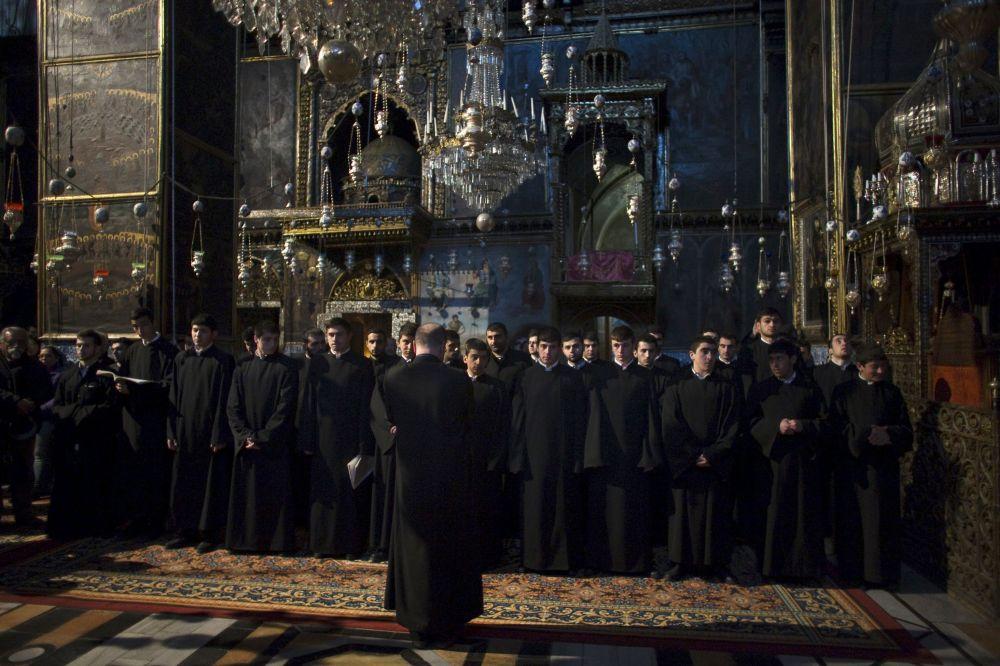 Messa in memoria delle vittime del genocidio a Gerusalemme