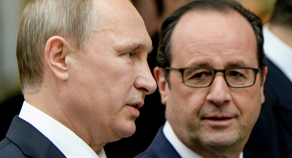 Hollande a Putin, 'non so se lo ricevo'