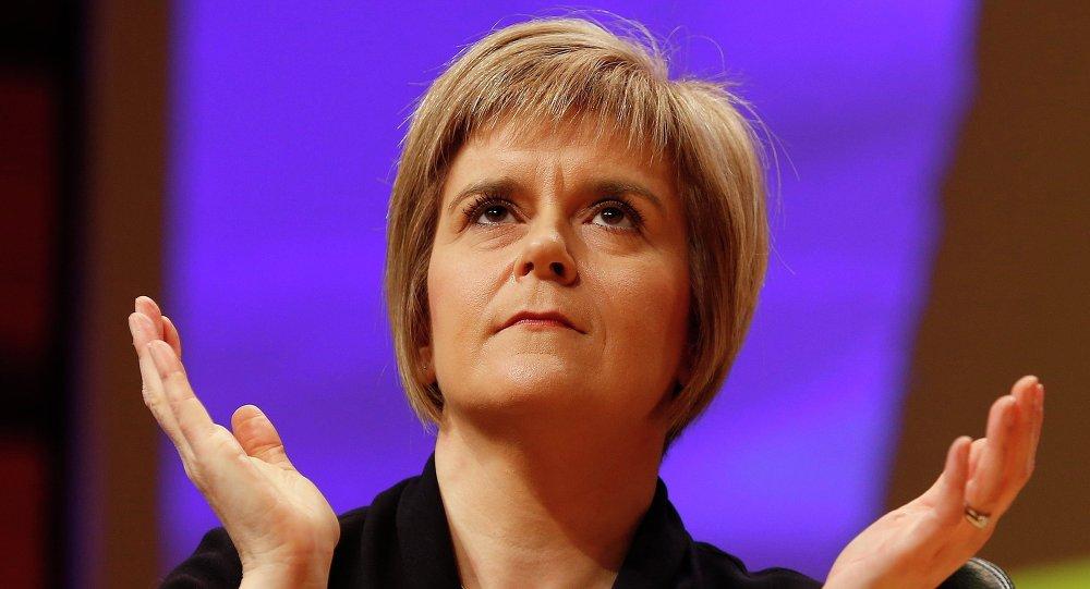 Il primo ministro della Scozia Nicola Sturgeon