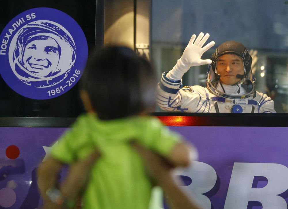 In orbita! la navicella Soyuz decolla da Baykonur