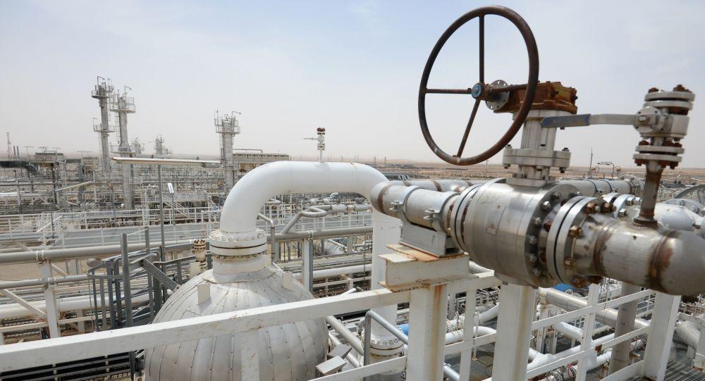 Centrale di lavorazione del gas in Siria
