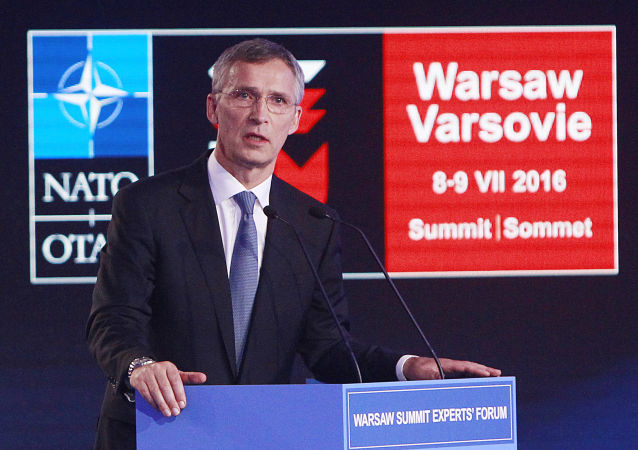 Segretario generale NATO Jens Stoltenberg