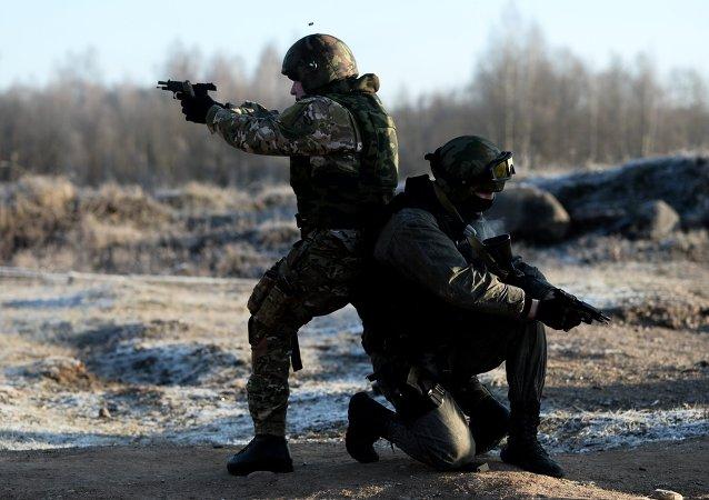 Forze speciali russe nel Caucaso