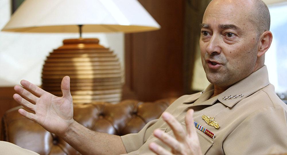 Ammiraglio James Stavridis (foto d'archivio)