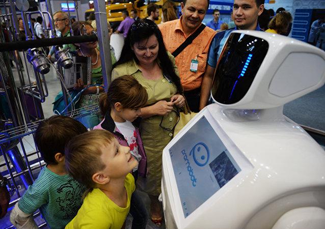 Robot ad INNOPROM 2016