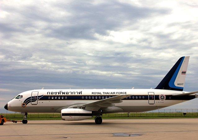 Il Sukhoi Business Jet (SBJ) venduto all'aeronautica militare reale thailandese