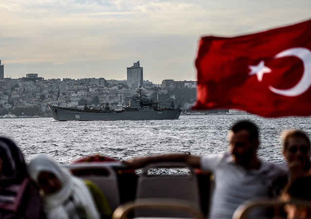 La bandiera turca