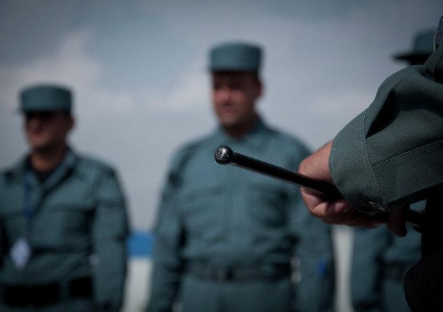 Polizia afgana
