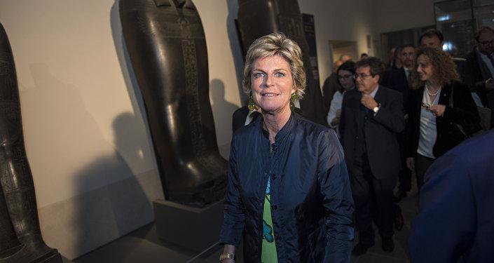 Evelina Christillin, presidente dell'Agenzia Nazionale per il turismo (Enit) e della Fondazione Museo delle Antichità Egizie di Torino.