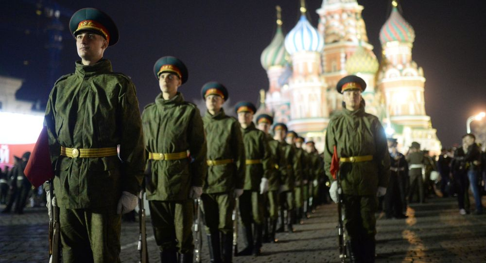 Le prove della Parata del 9 maggio a Mosca.