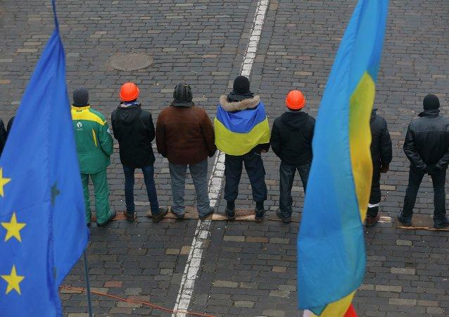 Attivisti filo-Maidan