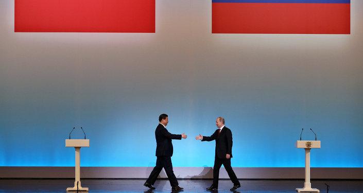 Xi Jinping e Valdimir Putin