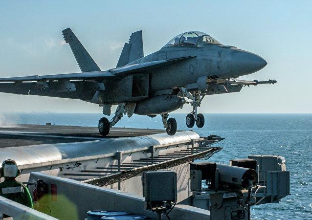 Aereo della coalizione USA anti-Daesh