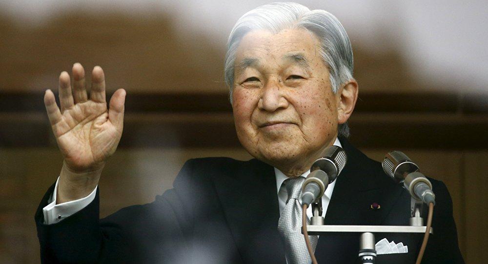 L'imperatore del Giappone Akihito