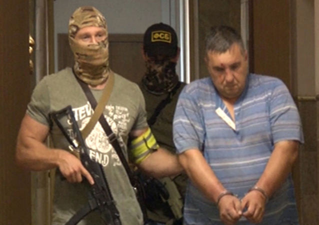 Uno dei sabotatori ucraini arrestato dall'FSB in Crimea