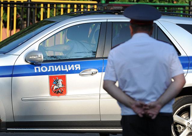 Agente della polizia russa