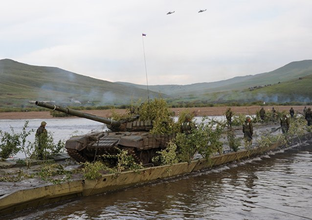 Esercitazioni russo-mongole Selenga