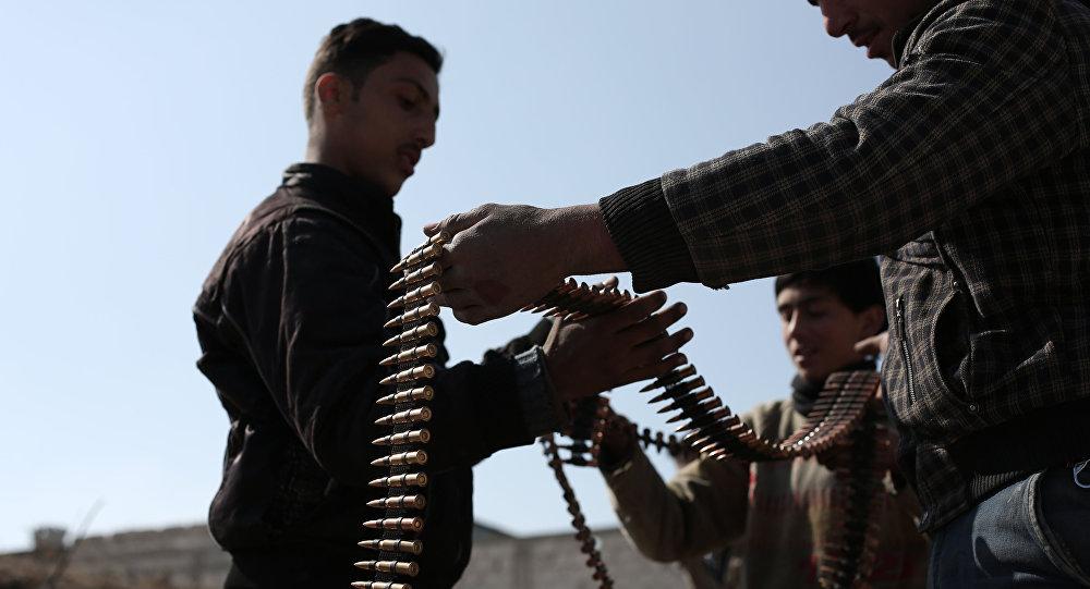 Combattenti dell'opposizione siriana