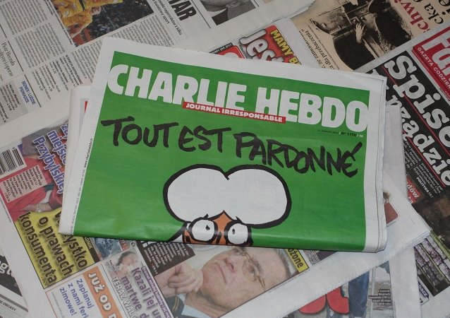 The latest volume of Charlie Hebdo magazine