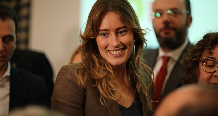 La ministro Boschi