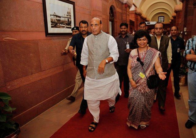 Ministro degli Interni indiano Rajnath Singh
