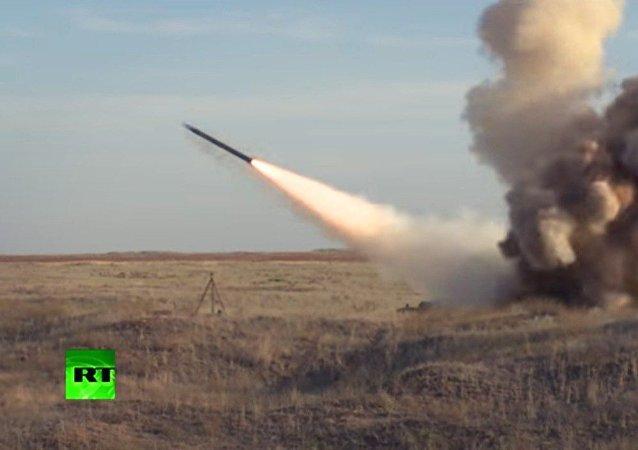Lancio del missile da crociera Iskander-M