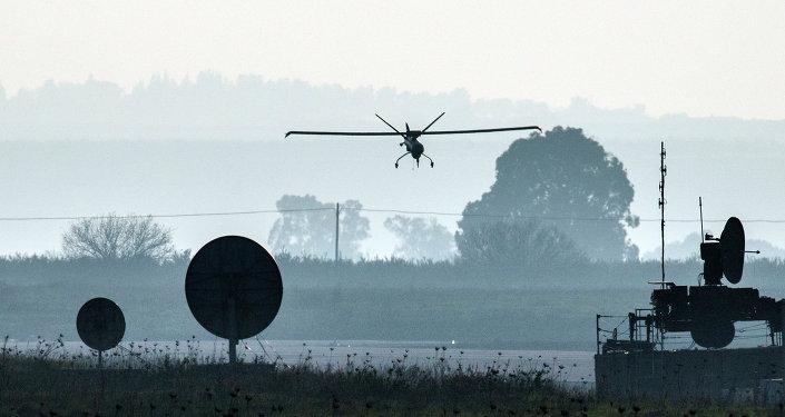 Drone israeliano decolla da base sulle Alture del Golan