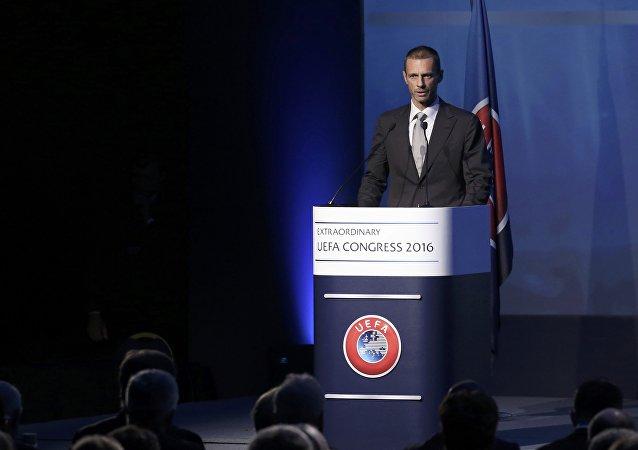 Aleksander Ceferin, presidente dell'UEFA