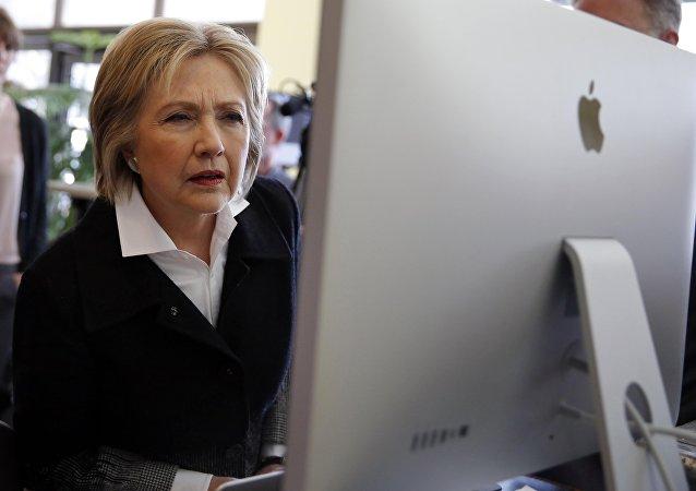 Hillary Clinton (foto d'archivio)