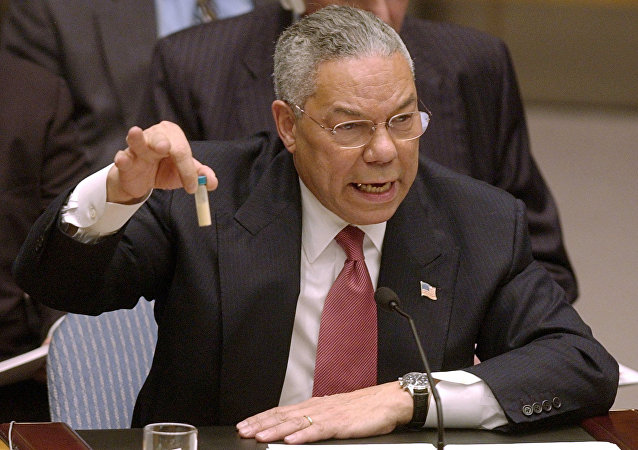 Ex segretario di Stato USA Colin Powell