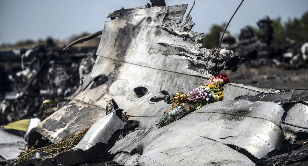 Rottami del boeing malese precipitato nel Donbass