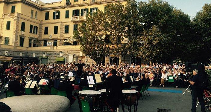 Concerto carabinieri a Roma