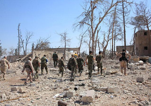 Soldati siriani