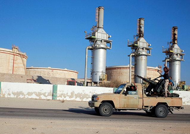 Impianti petroliferi in Libia